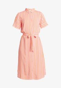Modström - OTIS PRINT DRESS - Blusenkleid - flamingo pink - 3