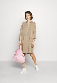 Modström - REMEE DRESS - Košilové šaty - cocoon sand - 1