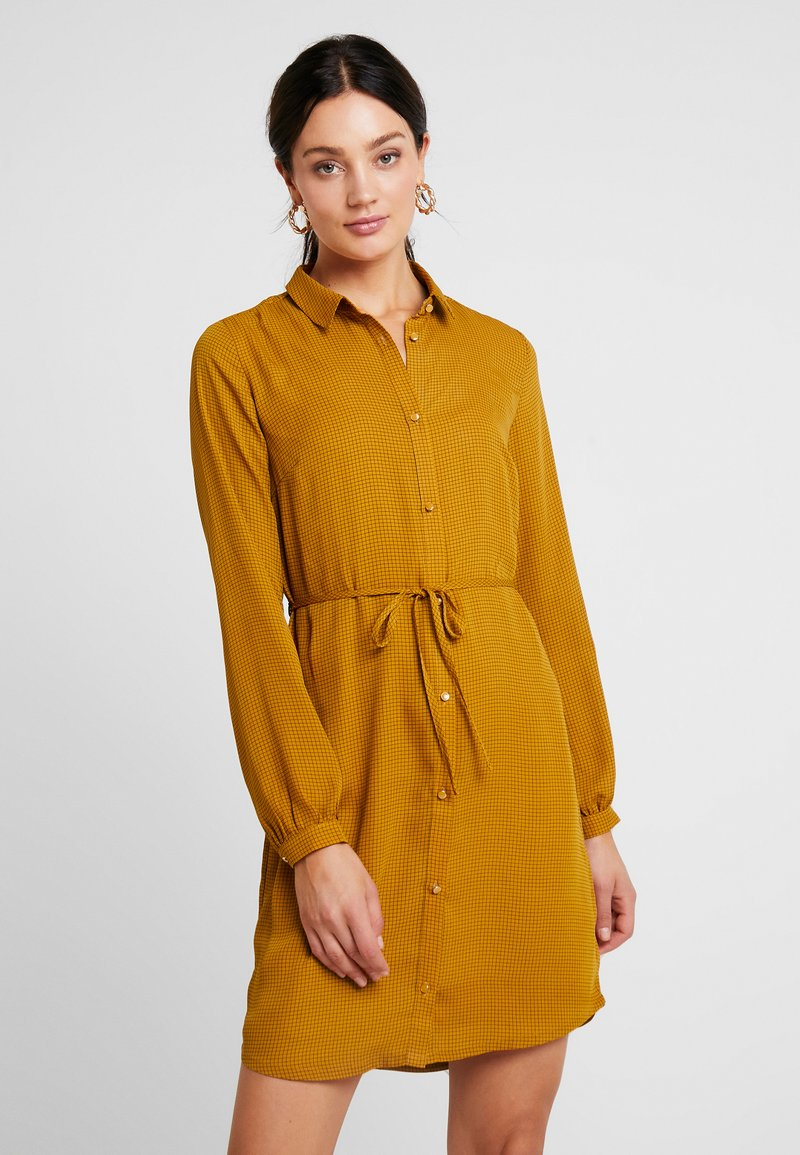 Modström - SIVA PRINT DRESS - Blusenkleid - yellow