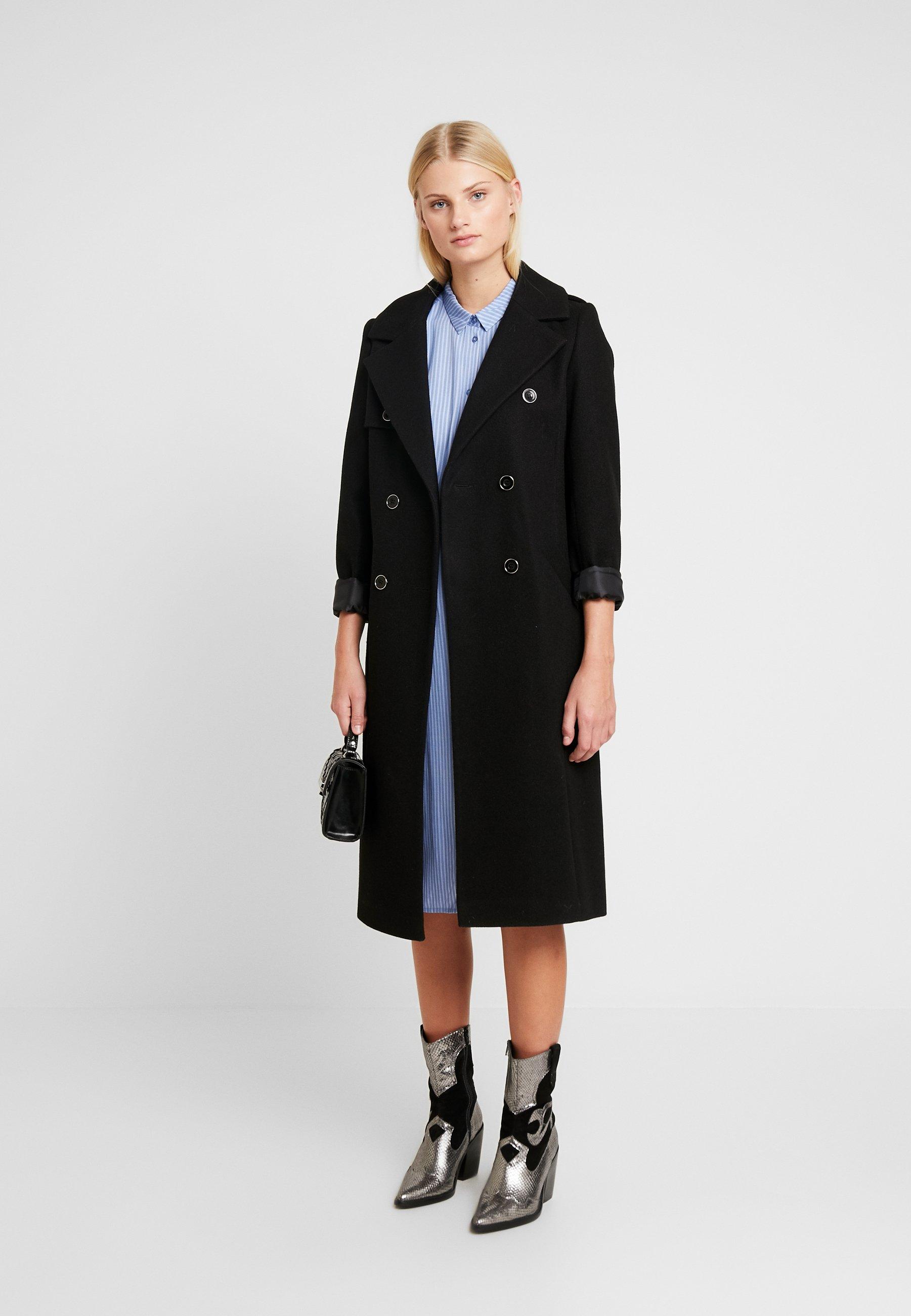 Modström BEA PRINT DRESS - Sukienka koszulowa - twill stripe