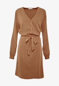 Modström - BELLEVUE DRESS - Skjortekjole - warm camel - 4