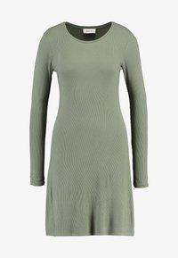 Modström - KROWN FLARE DRESS - Jumper dress - dark khaki - 4