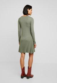 Modström - KROWN FLARE DRESS - Jumper dress - dark khaki - 3