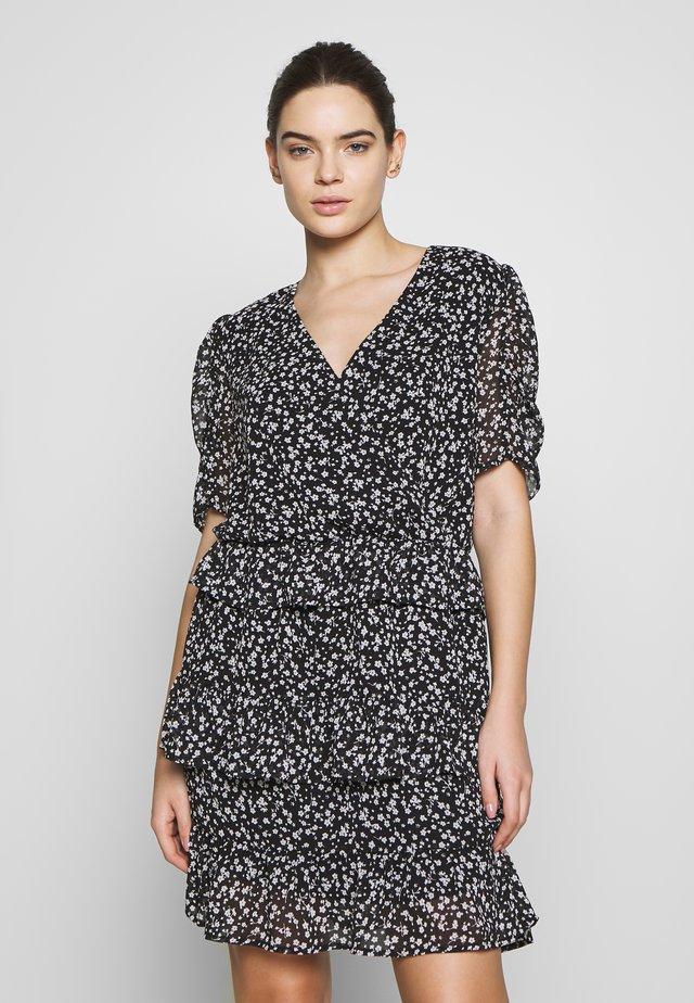 CHARLIE PRINT DRESS - Korte jurk - black