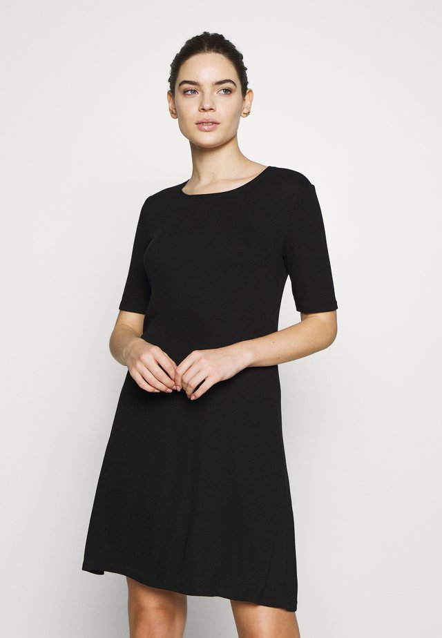 CHICA DRESS - Trikoomekko - black