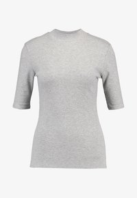 Modström - KROWN - T-shirts - grey melange - 3