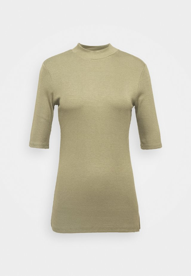 KROWN - T-Shirt basic - light khaki
