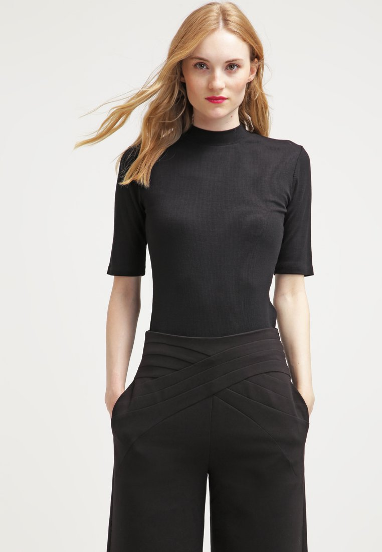 Modström - KROWN - T-shirt - bas - black