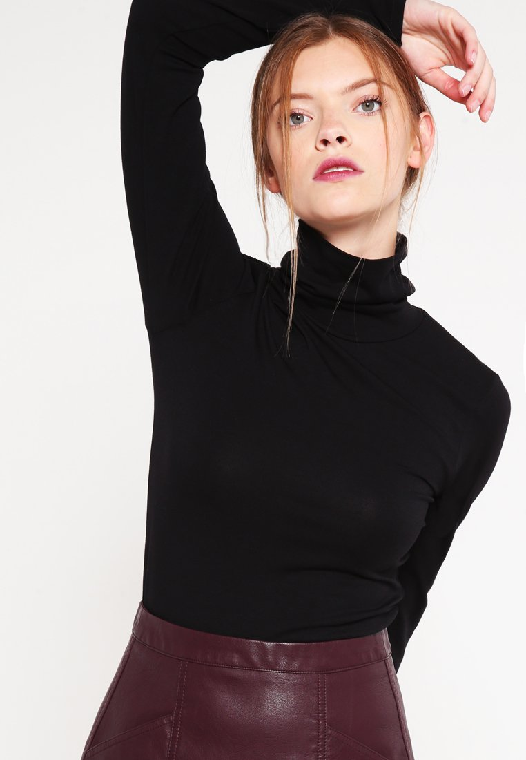 Modström - TANNER   - Long sleeved top - black