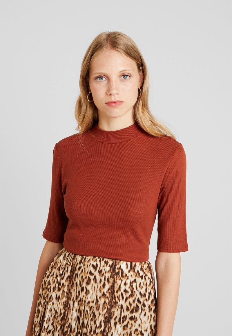 Modström - KROWN  - Basic T-shirt - brandy brown