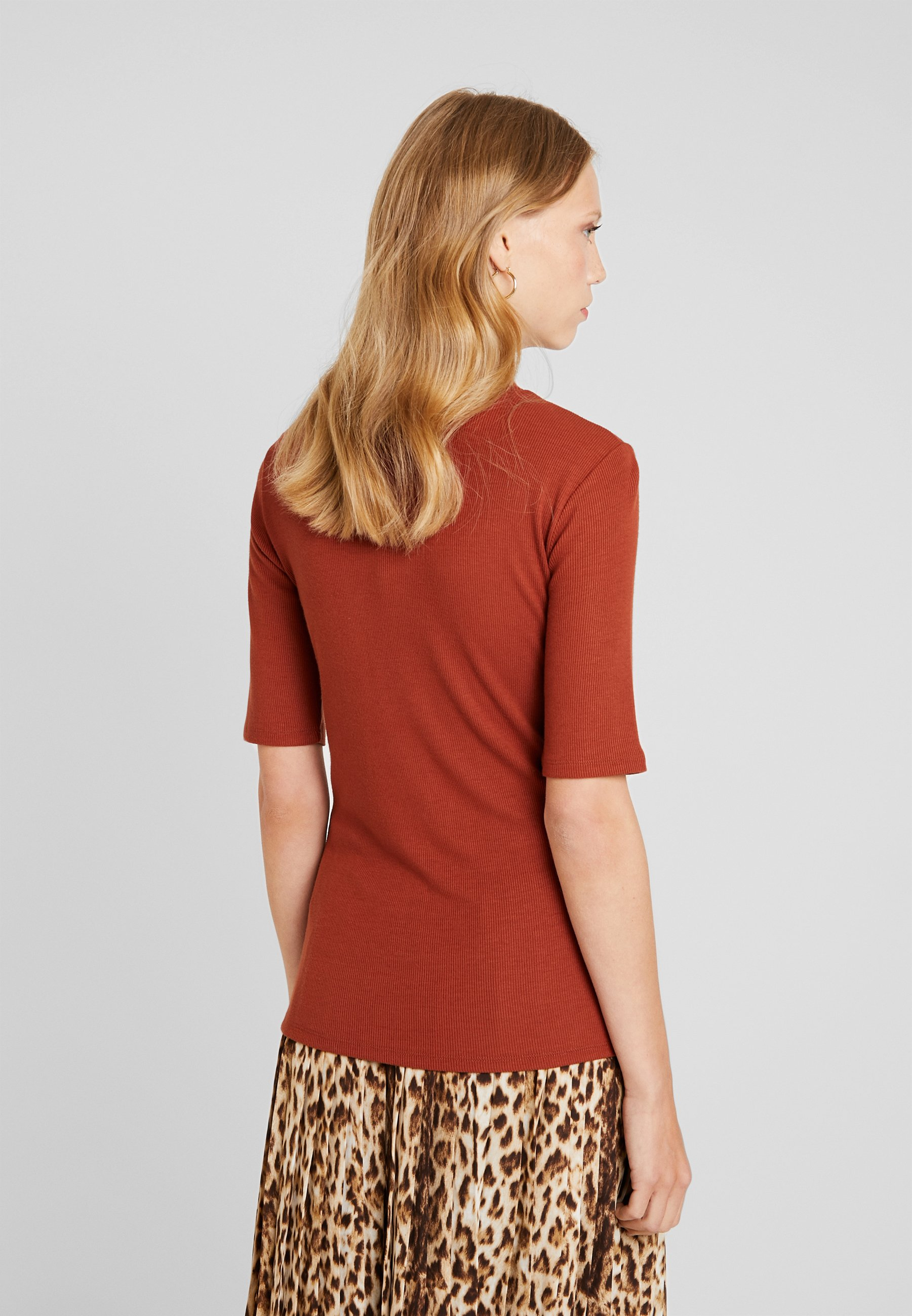 Modström KROWN  - T-shirts - brandy brown