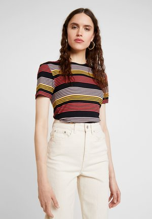 STRIPE - T-shirt imprimé - fire