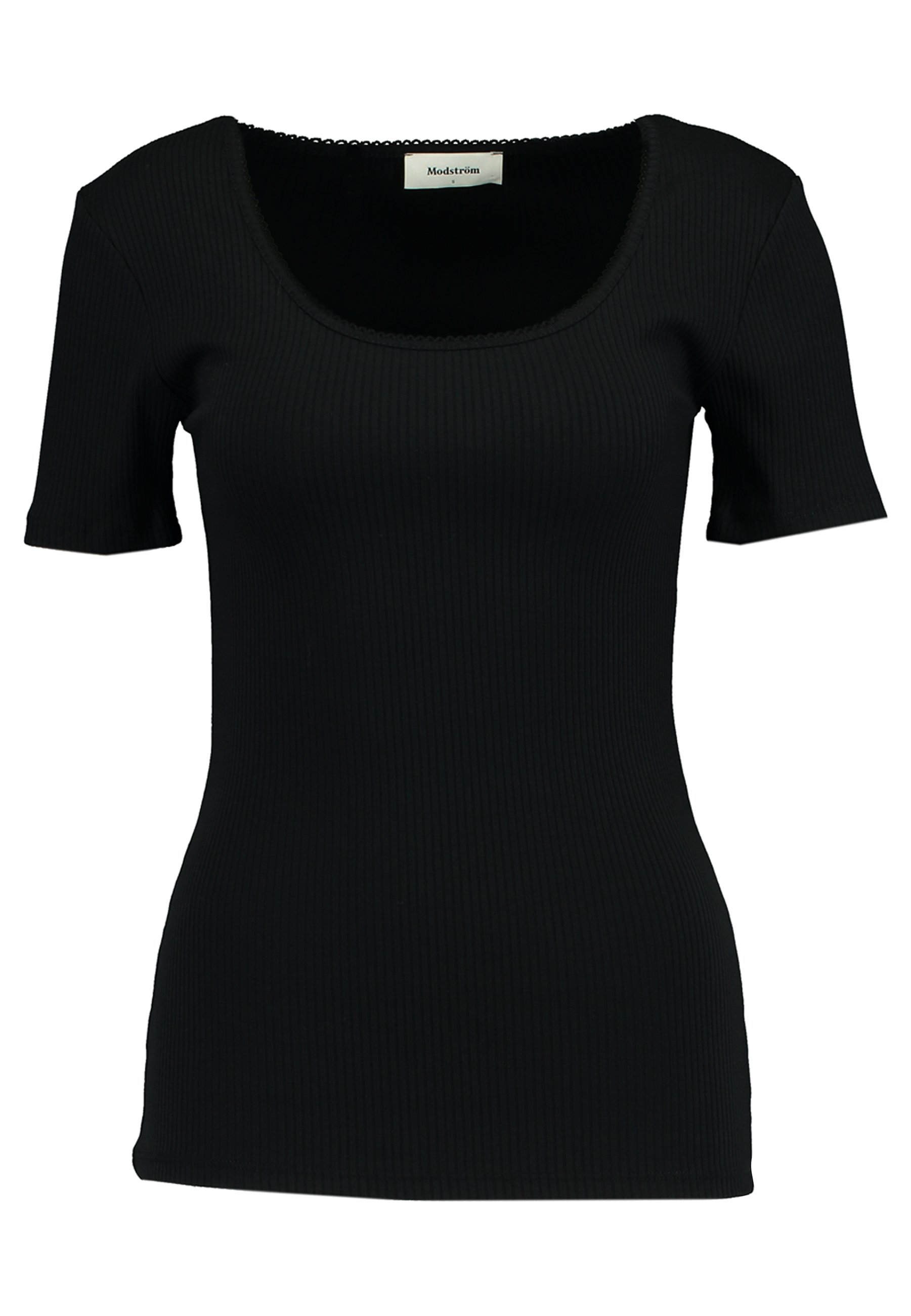 Modström Aron - T-shirt Basic Black ParlHUA