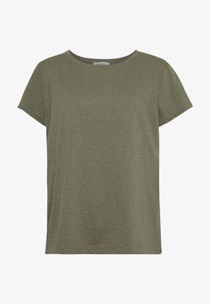 BRIDGET - T-Shirt basic - dark khaki