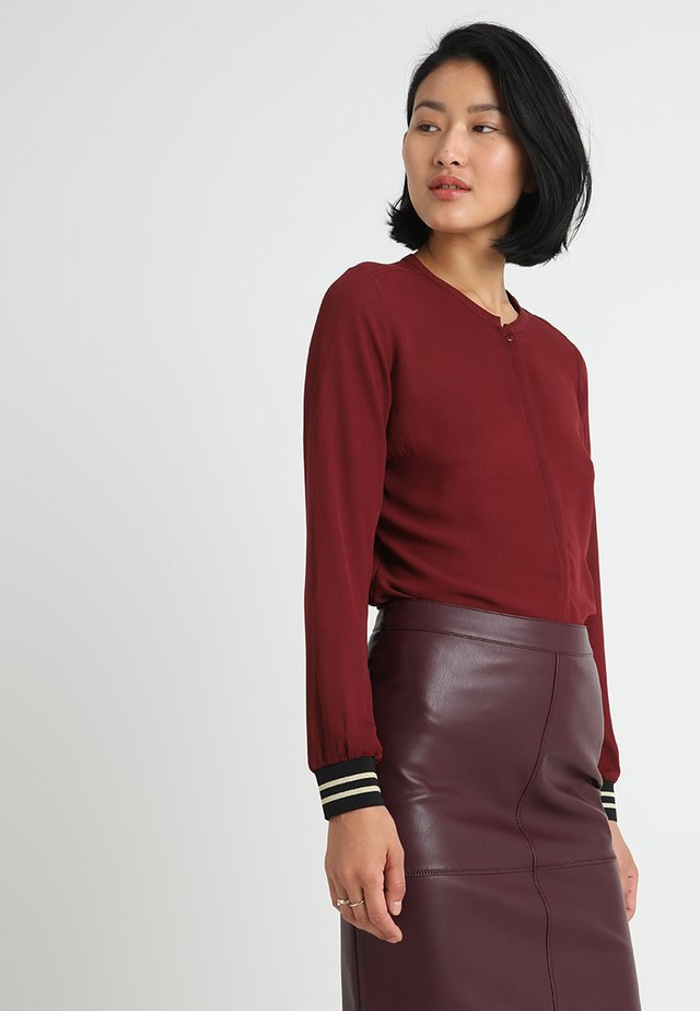 JOLENE - Blouse - dark cherry