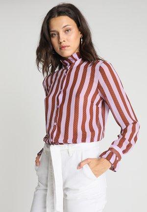 NILLE PRINT - Skjortebluser - lavender