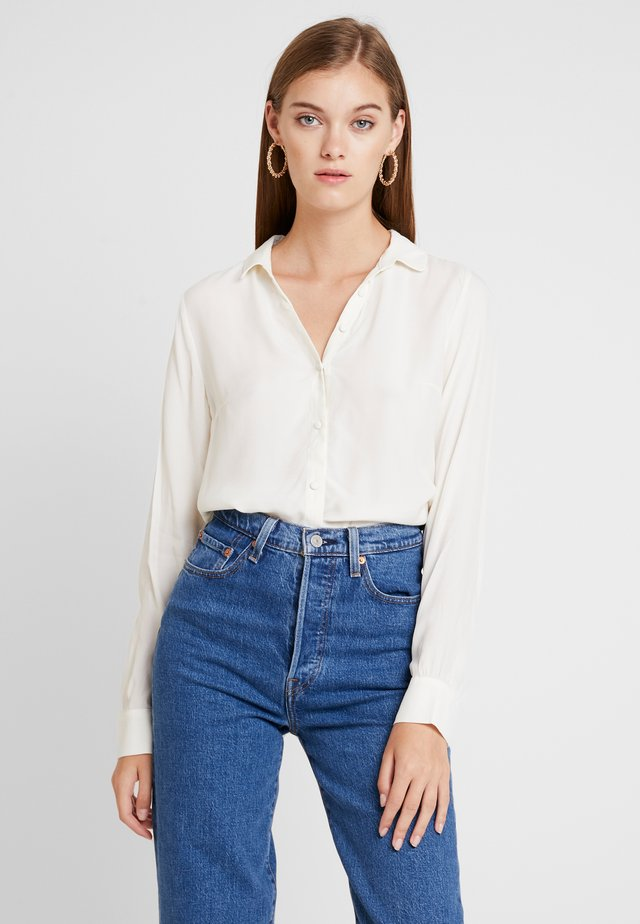 RYDER - Button-down blouse - off white