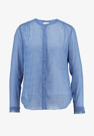 RACHEL PRINT - Button-down blouse - blue