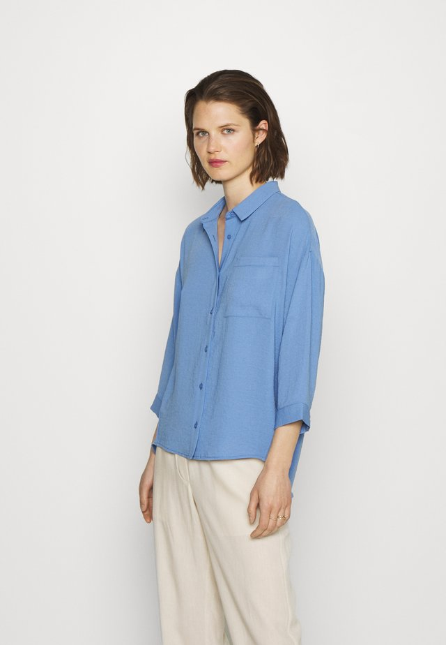 ALEXIS - Button-down blouse - blue oase