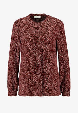 PRINT - Blouse - red blush