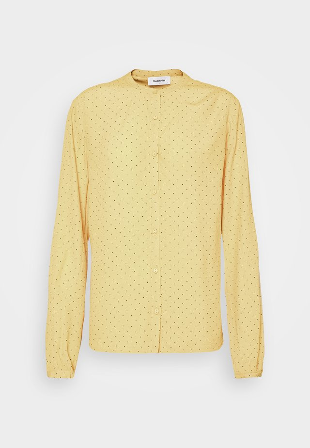 TINKA PRINT - Button-down blouse - yellow