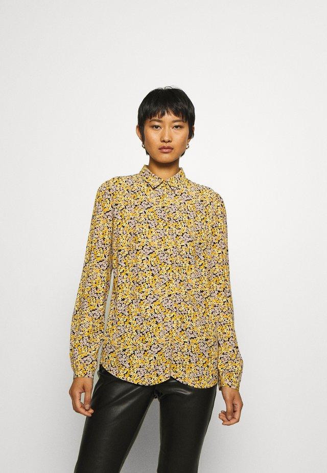 ELLA - Button-down blouse - yellow