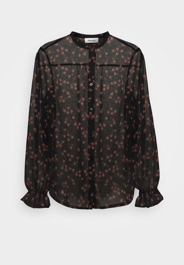 ERICA PRINT - Skjorte - black