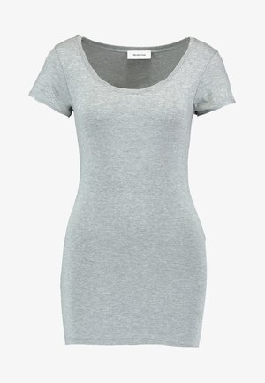TRICK - Basic T-shirt - grey melange