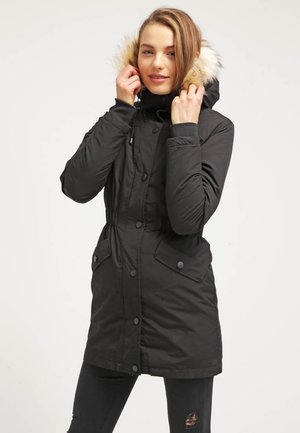 GONE FAUX FUR - Down coat - black