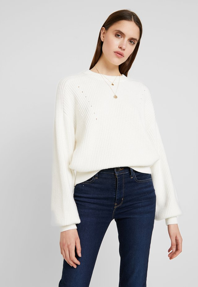 SIDNEY NECK - Neule - off white
