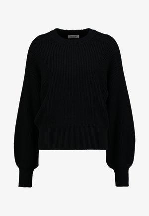 SIDNEY NECK - Jumper - black
