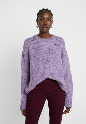 VALENTIA O-NECK - Trui - purple