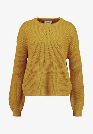 VANITY O NECK - Pullover - yellow ruby