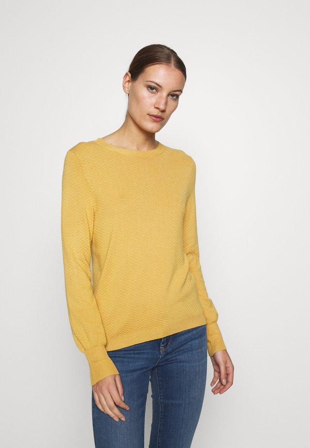CLAIRE ONECK - Jersey de punto - misty yellow