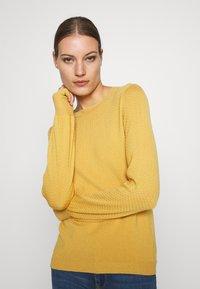 Modström - CLAIRE ONECK - Jersey de punto - misty yellow - 3