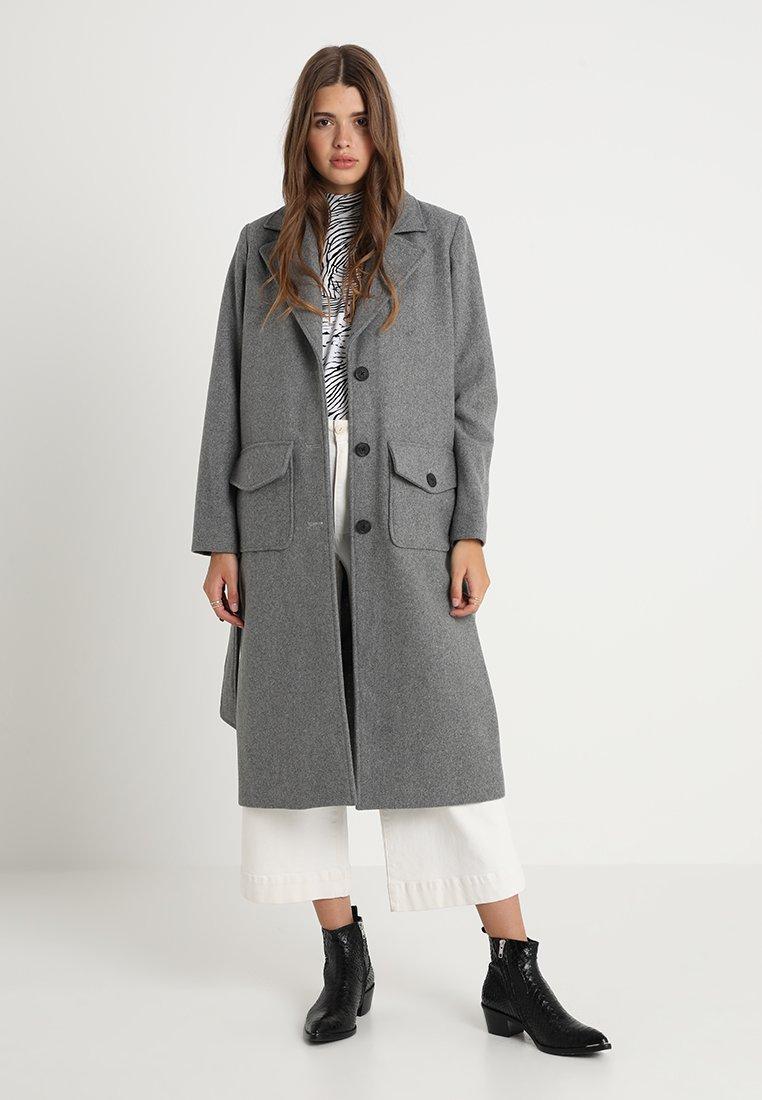 Modström - HECTOR COAT - Classic coat - grey melange