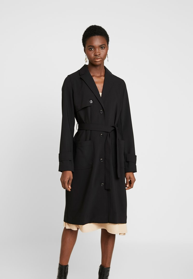 Modström - RAMONA JACKET - Trenchcoat - black