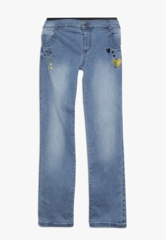 LITTLECAT UNLINED JEAN - Straight leg -farkut - denim