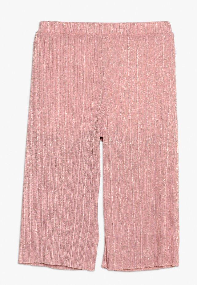 CULOTTE SHIMMER TROUSER - Bukse - pink