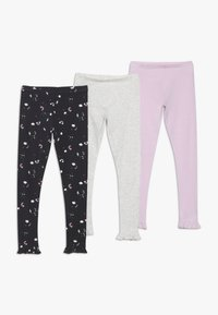 mothercare - LEGGINGS 3 PACK - Leggings - Hosen - multicolor - 0
