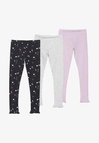 mothercare - LEGGINGS 3 PACK - Leggings - Hosen - multicolor - 3