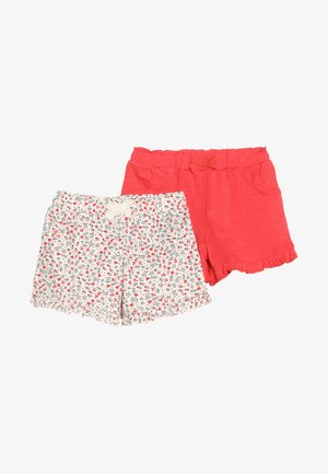 FLORAL MINI GIRLS 2 PACK - Shorts - white/red
