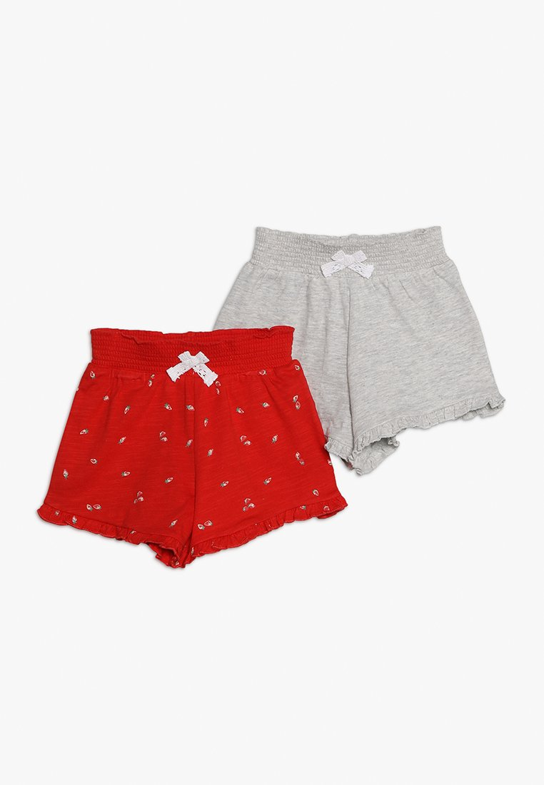 mothercare - BABY 2 PACK - Szorty - red/grey melange