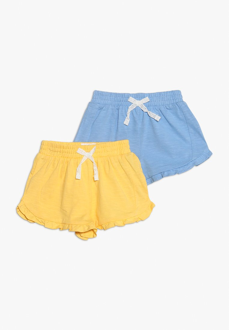 mothercare - SHORT BABY 2 PACK - Szorty - yellow/blue