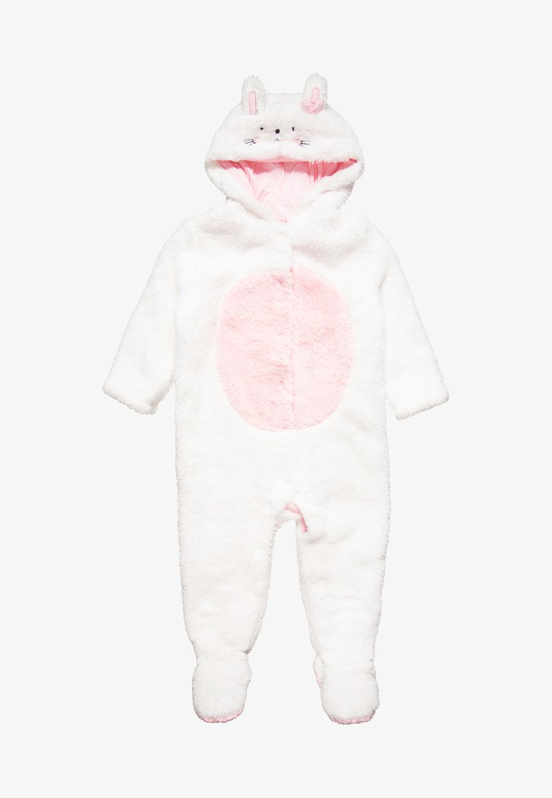 mothercare - GIRLS BUNNY FLUFFY BABY - Haalari - white