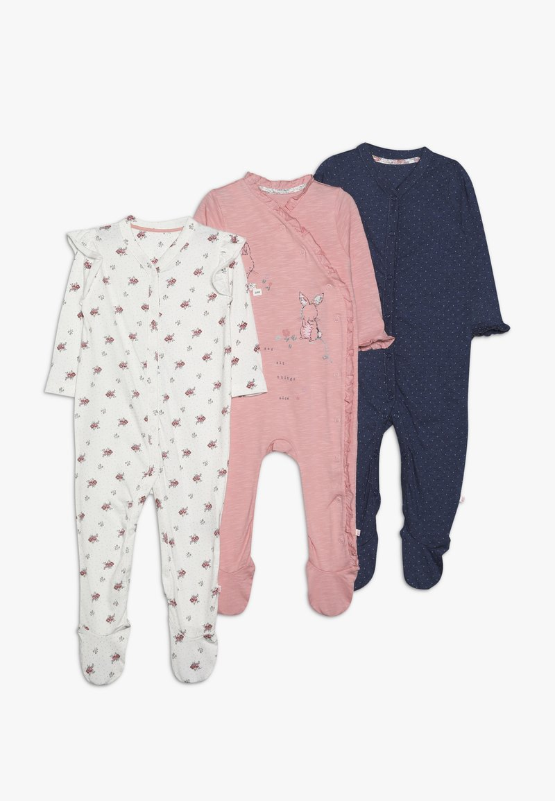 mothercare - BABY HANGING SLEEPSUITS 3 PACK - Pyžamo - multi