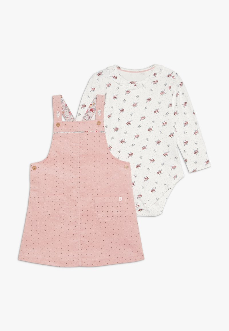 mothercare - BABY PINNY DRESS SET - Body - pink