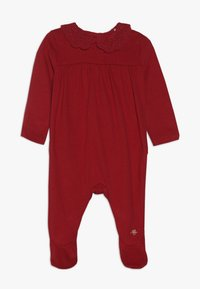 mothercare - BABY HANGING SLEEPSUITS 3 PACK - Babygrow - red - 2