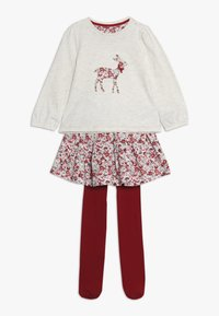 mothercare - BABY DEER AND FLORAL SKIRT SET - A-linjekjol - multi - 0