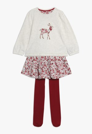BABY DEER AND FLORAL SKIRT SET - A-linjekjol - multi